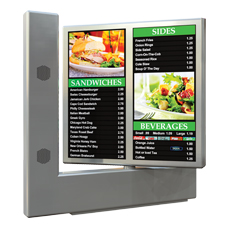 combination exterior menu boards