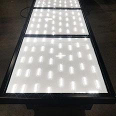 Back Lit LED sign lighting